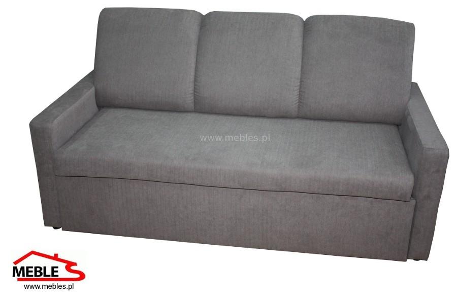 Nowoczesna Sofa Rozkładana na Wózku Apollo z bokami Alibi