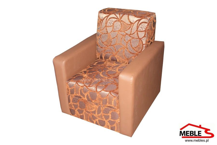 Nowoczesny Fotel z Małymi Bokami Alibi - oparcie na stałe