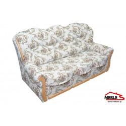 Stylowa Sofa z tkaniny Żakard Romeo
