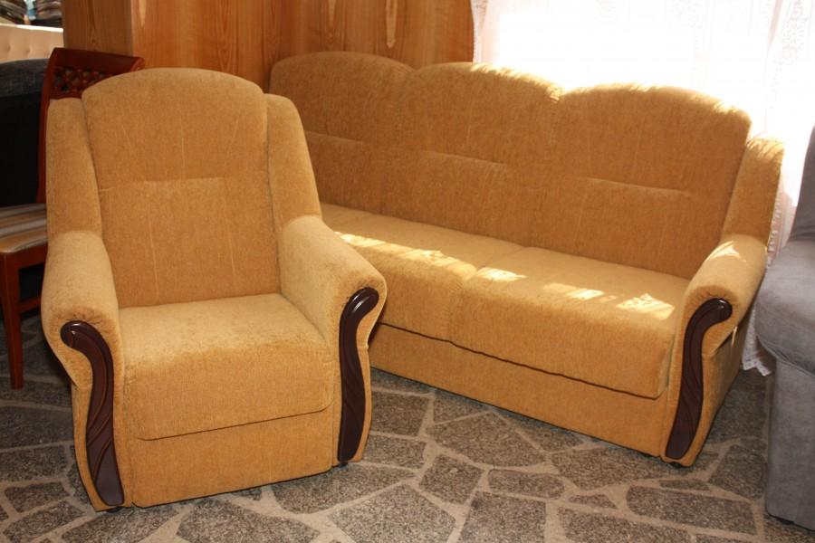 Wersalka z fotelami Iza